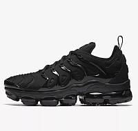 Мужские Кроссовки Nike Air VaporMax Plus Чёрные Найк (размеры: 41,42,43,44,45,46) Видео Обзор