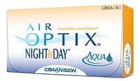 Контактные линзы Air Optix Night&Day Aqua (1 месяц)