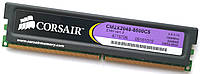 Игровая оперативная память Corsair DDR2 2 Gb 1066 MHz PC2 8500U CL5 2R8 (CM2X2048-8500C5) Б/У, фото 1