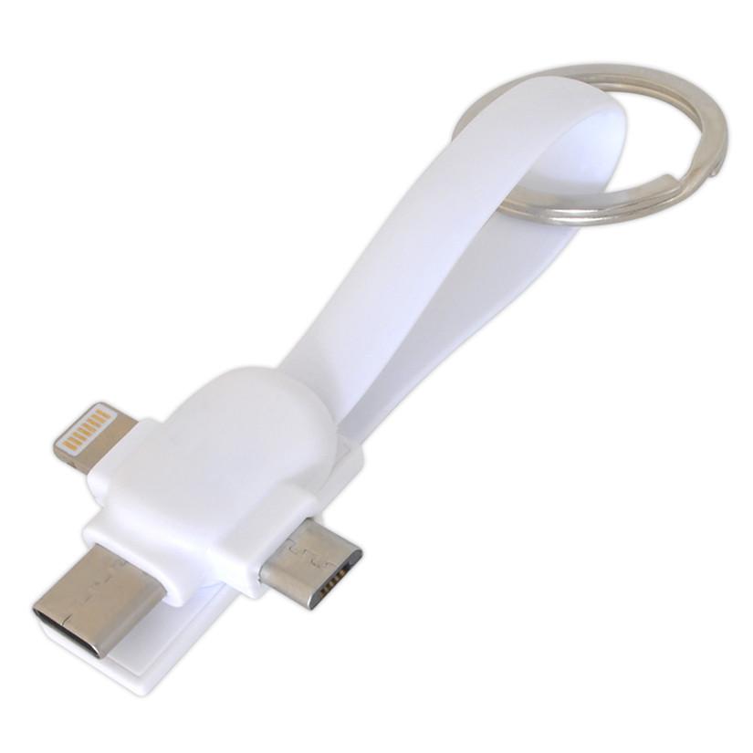 USB кабель 3 в 1 универсальный под печать (UC-07), фото 1