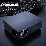Проектор мультимедийный Wi-Fi улучшенная линза кинопроектор Vivibright Wi-light F20 проектор для дома, фото 3