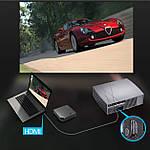 Проектор мультимедийный Wi-Fi улучшенная линза кинопроектор Vivibright Wi-light F20 проектор для дома, фото 6