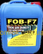 Гидрофобизатор водоотталкивающая пропитка от влаги FOB-F7 - для тротуарной плитки, бетона, камня, кирпича
