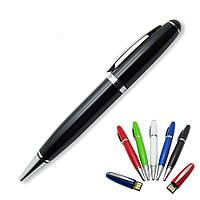Флешка-ручка Classic черная с гравировкой 32 Гб (1122-2-32-Гб), фото 1