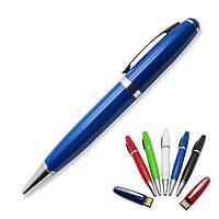 Флешка-ручка Classic синяя под логотип 16 Гб (1122-3-16-Гб), фото 1