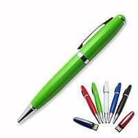 Флешка-ручка Classic зеленая с печатью 32 Гб (1122-5-32-Гб), фото 1