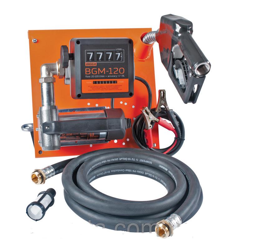 Gamma AC-45 - узел для заправки дизельным топливом со счетчиком, 220В, 45 л/мин.