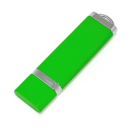 """Флешка """"ТОР"""" зеленая с нанесением лого 32 Гб (0707-5-32-Гб)"""