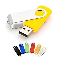 "Флешка ""Твистер"" желтая под логотип 16 Гб (0801-5-16-Гб), фото 1"