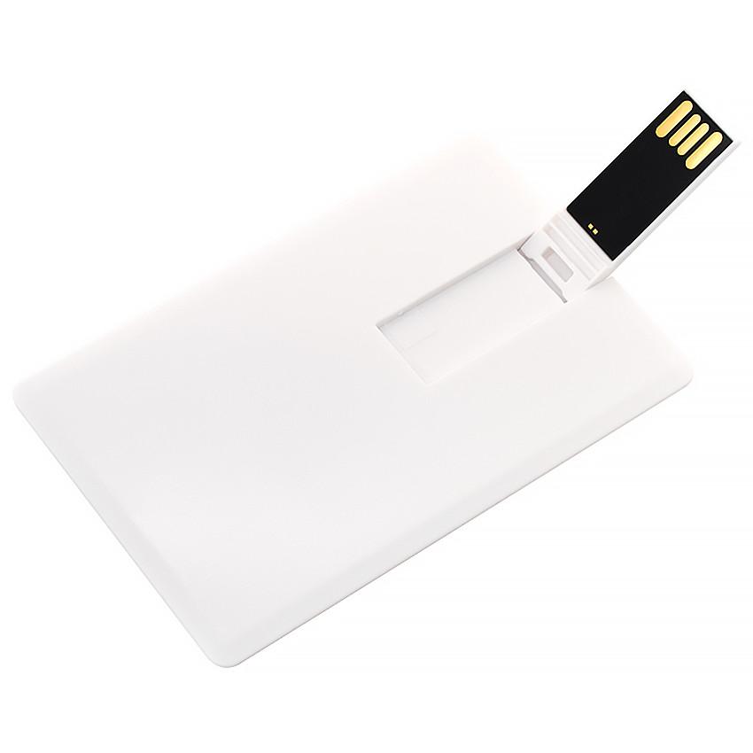 Флешка-карточка Кредитная под уф-печать 32 Гб (1012-32-Гб)