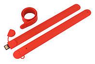 Флешка браслет под нанесение красная 8 Гб (0993-4-8-Гб), фото 1