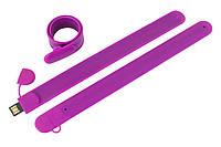 Флешка фиолетовая в виде браслета под печать 4 Гб (0993-8-4-Гб), фото 1