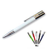 Флешка-ручка Neo белая под гравировку 4 Гб (1133-1-4-Гб), фото 1