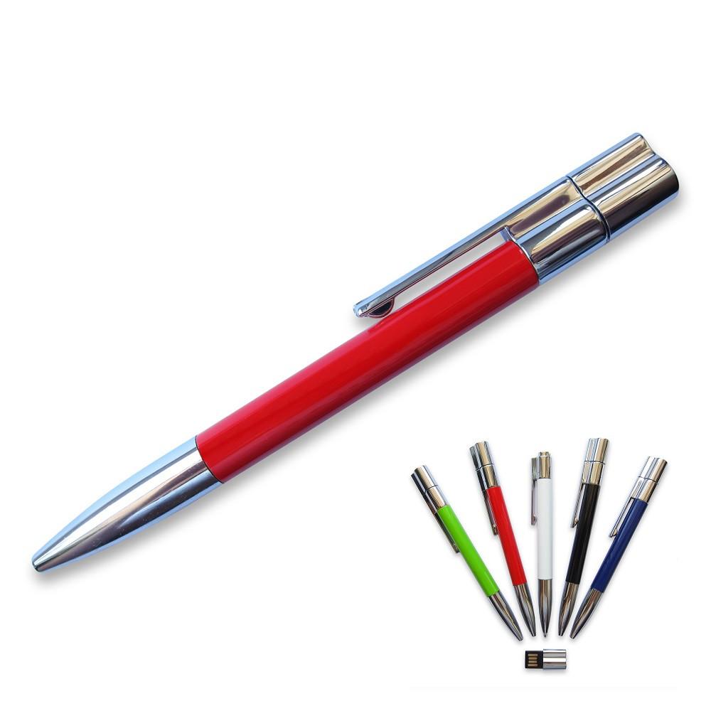 Флешка-ручка Neo красная под печать логотипа 64 Гб (1133-4-64-Гб)