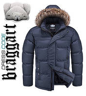 Купить зимнюю мужскую куртку с мехом