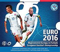Словакия 2016. Официальный юбилейный набор монет