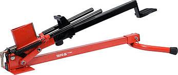 Дровокол ножний механічний до 430 мм YATO YT-79943, фото 2