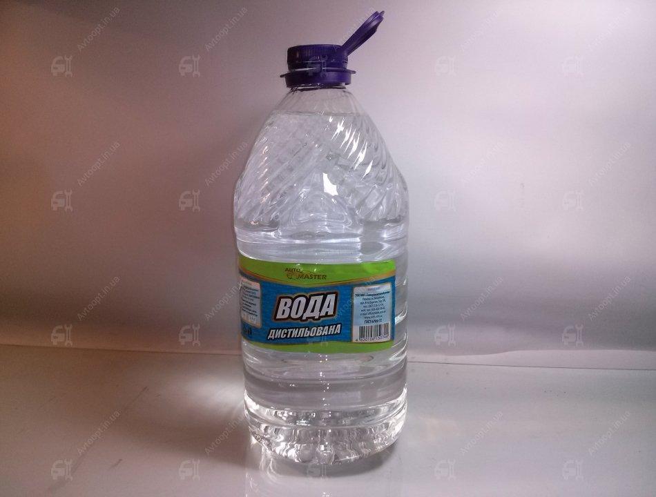 Вода дистиллированная 5 литров,