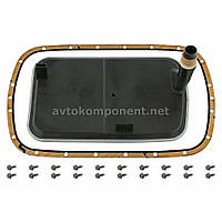Фильтр масляный АКПП BMW X5 (E53) 00-06 с прокладкой (пр-во FEBI) (арт. 27061)