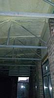 Утепление потолка пенополиуританом ппу ( 50 мм)