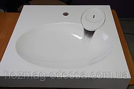 Раковина над стиральной машиной 600*600мм, белая