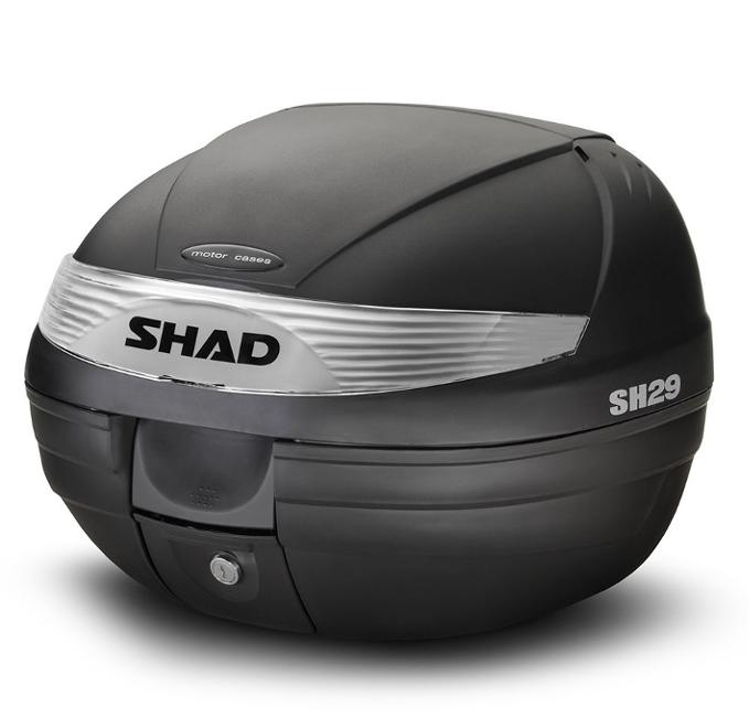 Кофр центральный Shad SH29 (+ плита) 29 L