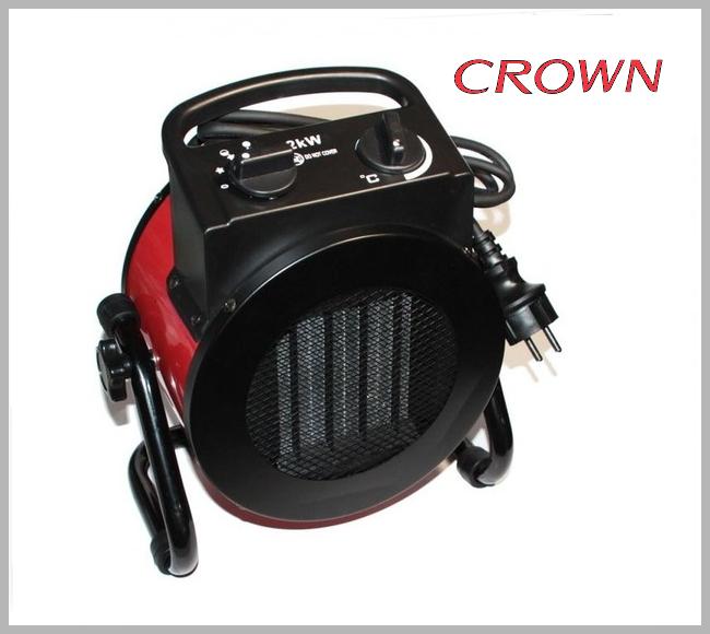 Тепловентилятор Crown ТПЭ 2 кВт керамика