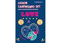 Набор цветного картона 10 листов для девочки CF05281-09