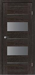 Двери LEADOR модель Canneli, цвет дуб мокко, дуб латте, дуб саксонский, серое дерево