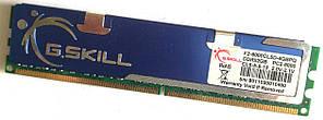 Игровая оперативная память G.Skill DDR2 2Gb 1000MHz PC2 8000U CL5 (F2-8000CL5D-4GBPQ) Б/У