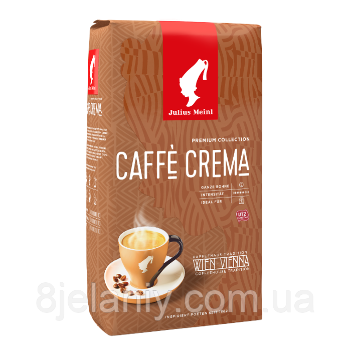Кофе в зернах Julius Meinl Premium Collection Caffe Crema 1кг