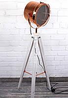 Светильник напольный прожектор торшер в стиле лофт Модель 4