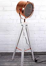 Підлоговий світильник прожектор торшер в стилі лофт Модель 4