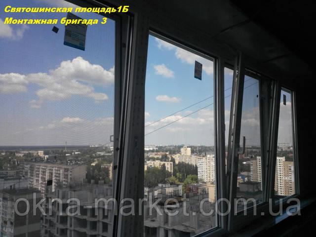 Балкон под ключ Киев ― остекление
