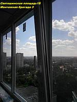 Профессиональное выполнение работ по остеклению балконов