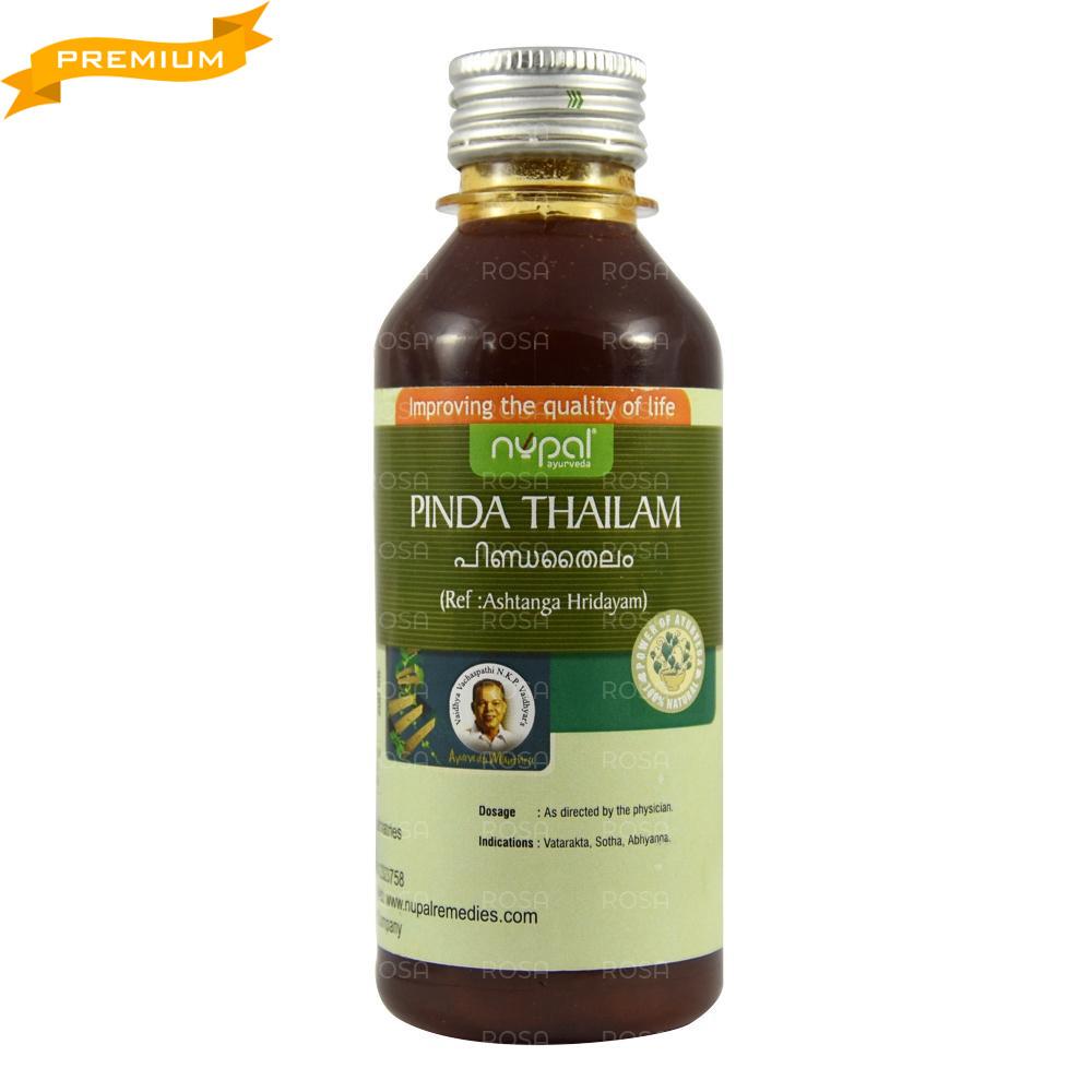 Пинда Тайла (Pinda Thailam, Nupal), 200 мл - аюрведа качества премиум