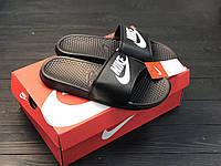Сланцы мужские Nike(шлепки,шлепанцы) Черные