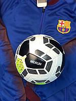 Футбольный мяч Premier League Merlin 2019 Белый с желтым