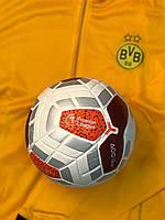 Футбольный мяч Premier League Merlin 2019 Белый с оранжевым