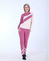 Женский спортивный костюм розовый Stylish fashion размеры 40-46 S