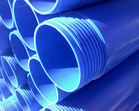 Обсадная труба для скважин Evci Plastik ПВХ d140х6,5мм