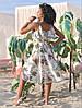 "Асимметричное летнее платье на запах ""Кэндис"" с оборками (4 цвета), фото 3"