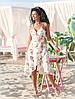 "Асимметричное летнее платье на запах ""Кэндис"" с оборками (4 цвета), фото 4"