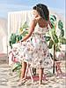 "Асимметричное летнее платье на запах ""Кэндис"" с оборками (4 цвета), фото 6"