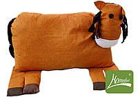 """ТМ TAG Игрушка-подушка """"Лошадка"""". Цвет оранжевый"""