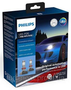 Автолампа светодиодная PHILIPS PS 11366XUWX2