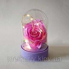 Роза под стеклом. Вечный цветок в колбе