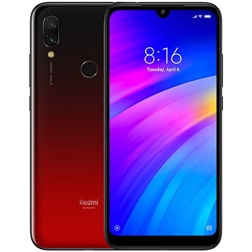 Смартфон Xiaomi Redmi 7 3/64Gb Lunar Red Global version (EU) 12 мес