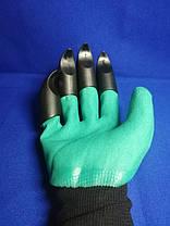Садовые перчатки грабли, фото 3