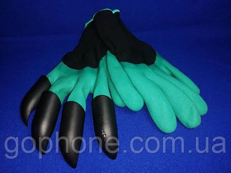 Садовые перчатки грабли, фото 2